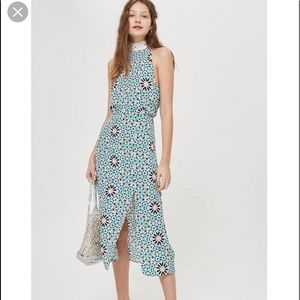 Topshop Halter Dress